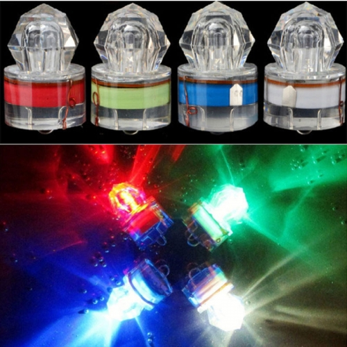 Ranpo  Flash Fishing Light LED Deep Drop Underwater Diamond Squid Strobe Bait Lure Lamp