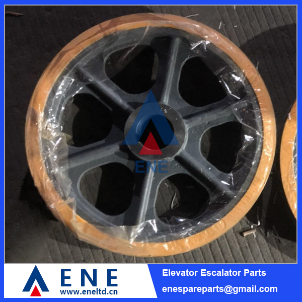 Mitsubishi EM1510H Elevator Traction Sheave Drive Pulley