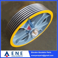W163 Schindler Elevator Traction Sheave Drive Pulley