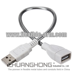 USB Connector with Gooseneck