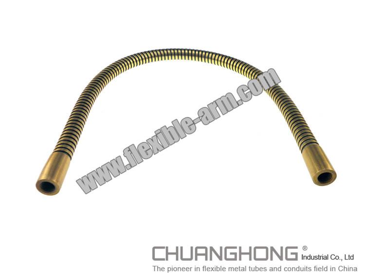 Brass stainless steel gooseneck tube