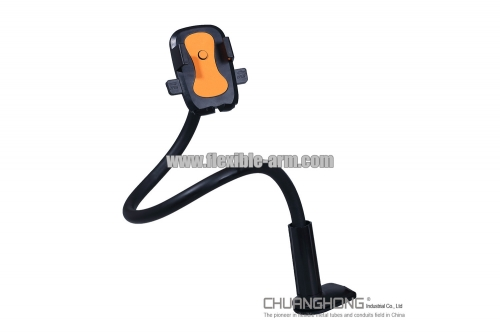 Flexible gooseneck pipe table stand for smartphone