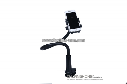 Smartphone gooseneck holder