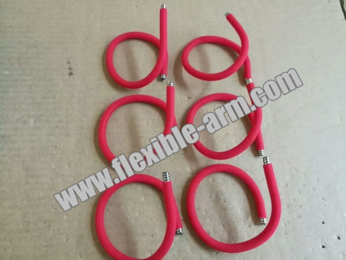 OEM Flexible Metal Arm Gooseneck Coated With Silicone Rubber