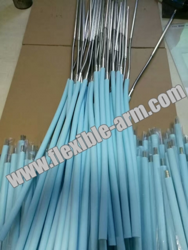 gooseneck flexible metal tube with Rubber Silicone Coated