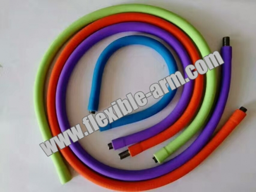 Silicone Coated Gooseneck Tube Medical Device Gooseneck