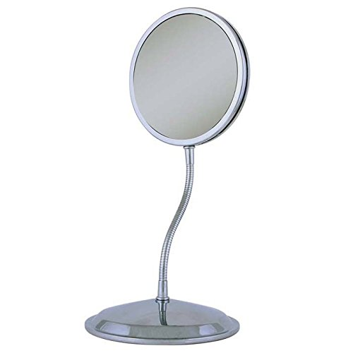 Led mirror gooseneck flexible magnifier stand