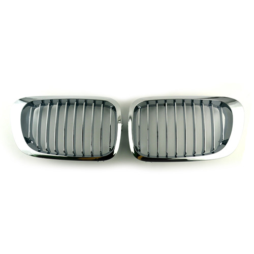 BMW Chrome Front Kidney Grills for 3 Series E46