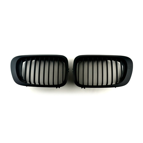 BMW Matte Black Front Kidney Grills for 3 Series E46