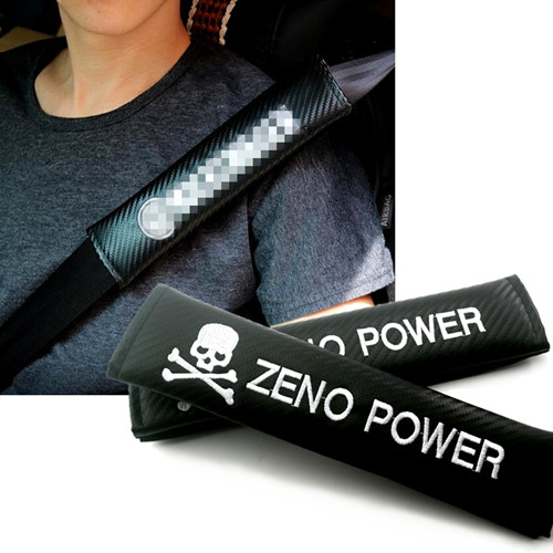 ZENO POWER Skull Seat Belt Shoulder Pads