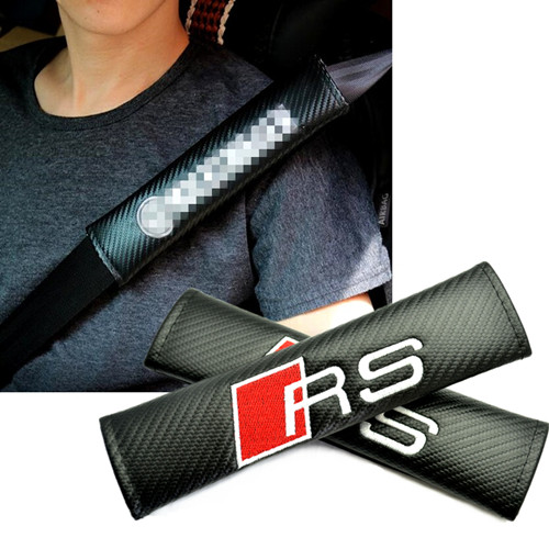 Audi RS Car Seat Belt Shoulder Pads