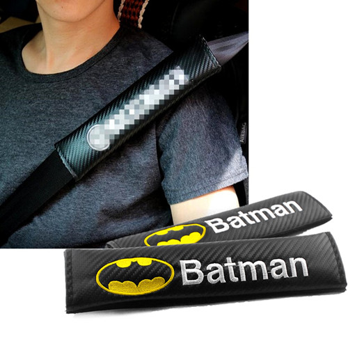 DC Comics Batman Car Seat Belt Shoulder Pads