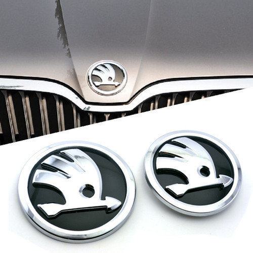 Skoda Front and Rear Badges