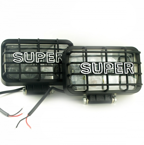 "1 Pair 40W ""SUPER"" Auto External LED Light"