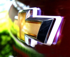 4D Chevrolet Chevy LED Emblem For Cruze Aveo Camaro Tahoe