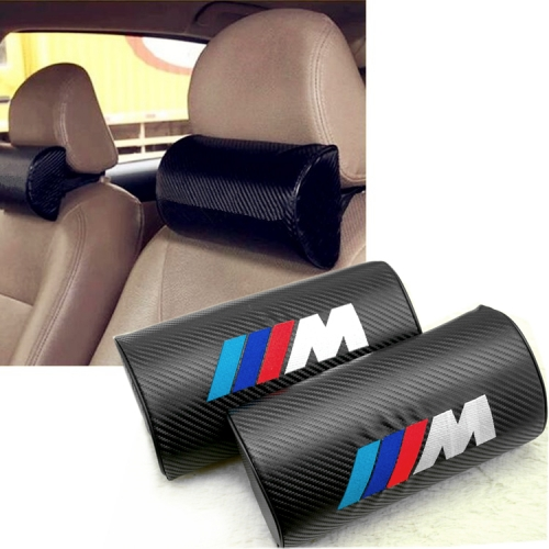BMW M Performance Carbon Fiber Leather Seat Headrests