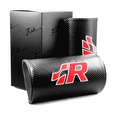 VW R Line Racing Carbon Fiber Leather Seat Headrests