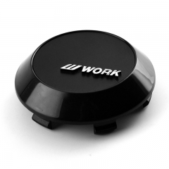 WORK Wheel Center Caps 70mm(63mm) Black