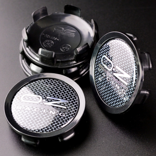 O.Z Racing Wheel Center Caps 75mm(70mm) Carbon Black M608