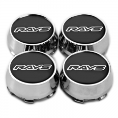 RAYS Wheel Center Caps 60mm(56mm) Black