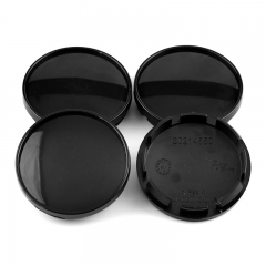 Black Wheel Center Caps 60mm(56mm)