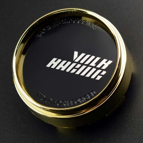 VOLK RACING Wheel Center Caps 67mm(63mm) Gold