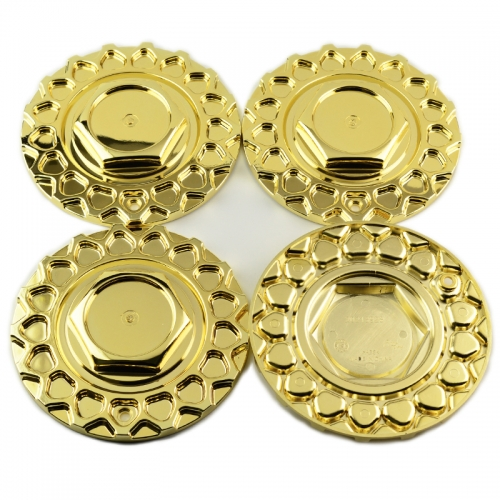 BBS RS Wheel Center Caps 168mm Gold #09.24.028