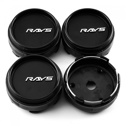 RAYS CE28 TE37 Wheel Center Caps 66mm(62mm) Black