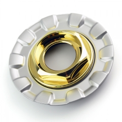 BBS RZ RG Wheel Center Caps 162mm Gold
