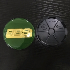 BBS LM Wheel Center Caps 68mm(62mm) Green
