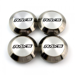 RAYS Wheel Center Caps 70mm(63mm) Silver