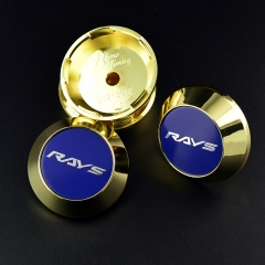 RAYS CE28 Wheel Center Caps 65mm(60mm) Blue