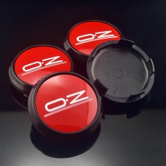 O.Z Racing Leggera Wheel Center Caps 68mm Red M673