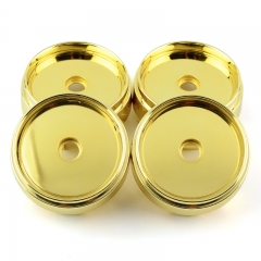 Gold Wheel Center Caps 67mm(63mm)