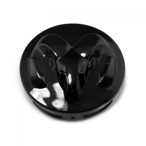 DODGE RAM Wheel Center Caps 63mm(56mm) Glossy Black