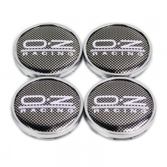O.Z Racing Wheel Center Caps 63mm(59mm) Checkered M595 Replica