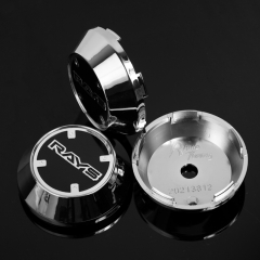 RAYS CE28 Wheel Center Caps 65mm(60mm) Chrome