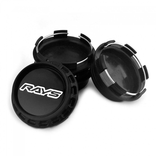 RAYS Wheel Center Caps 67mm(62mm) Black Silver