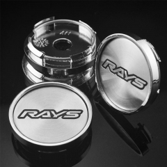 RAYS Wheel Center Caps 50mm(45mm) Silver