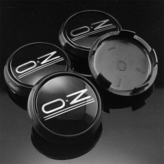 O.Z Racing Leggera Wheel Center Caps 68mm Black M673