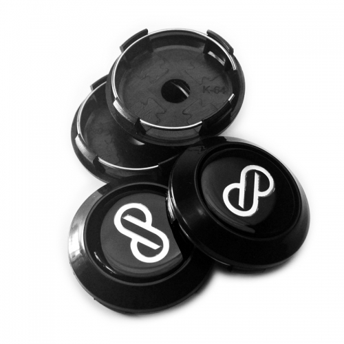 Enkei Wheel Center Caps 64mm(60mm) Black