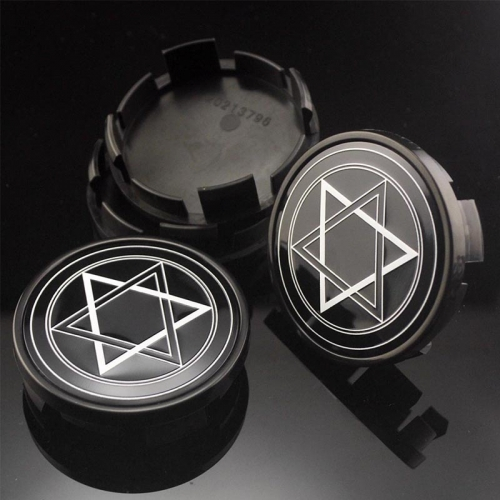 DODGE Brohers Star of David Wheel Center Caps 63mm(59mm)
