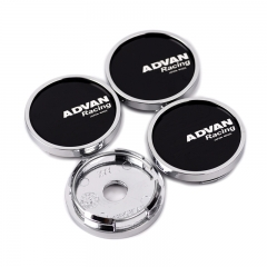 ADVAN Racing Wheel Center Caps 50mm(46mm) Black