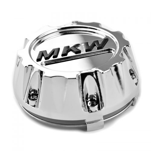 MKW Off Road Wheel Center Caps 96mm(91mm) Chrome