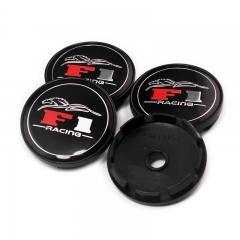 F1 Racing Wheel Center Caps 60mm(56mm)