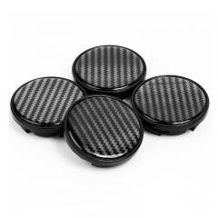 VW Passat Jetta Wheel Center Caps 66mm(56mm) Carbon Fiber Centers