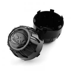 ION Alloy Wheel Center Caps 84mm(80mm) Black