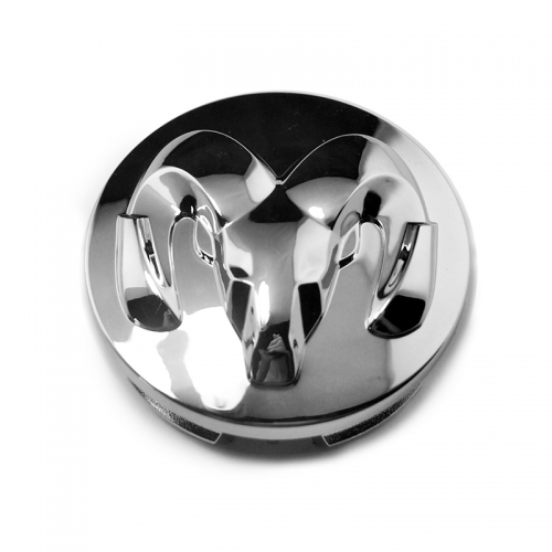 DODGE RAM Wheel Center Caps 63mm(57mm) Matte Black