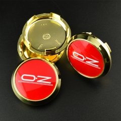 O.Z Wheel Center Caps 68mm(62mm) Gold M673