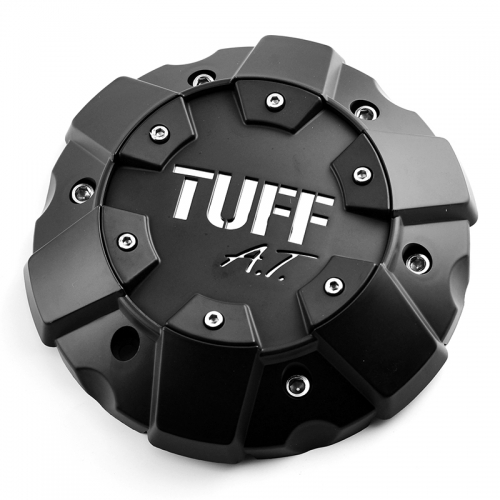 TUFF All Terrain Wheel Center Caps 178mm Black #C706901